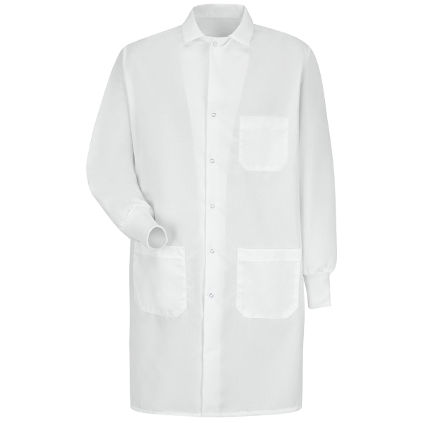 Red Kap Unisex Interior Pocket Cuffed Lab Coat
