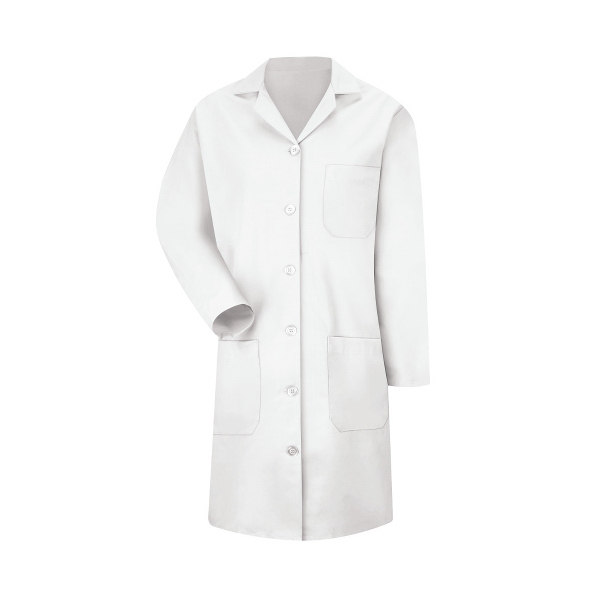 Red Kap Women's Button Lab Coat