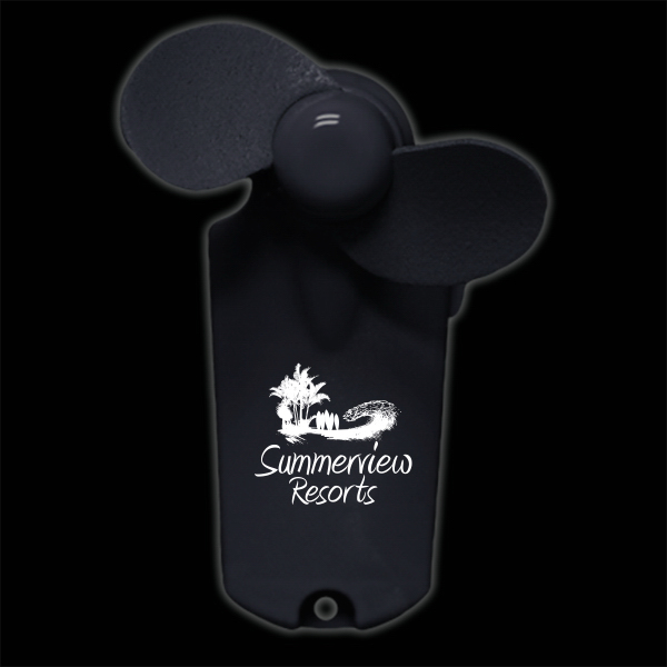 Black Handheld Fan
