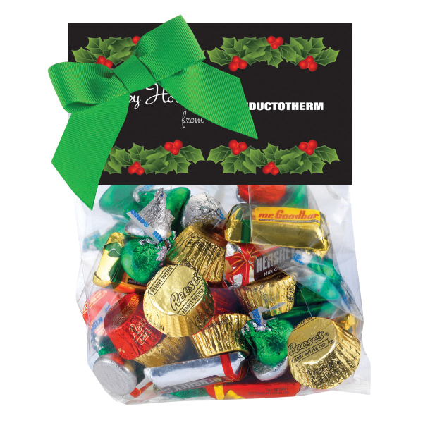 Candy Dish Refill Header Bag with Hershey's (R) Holiday Mix