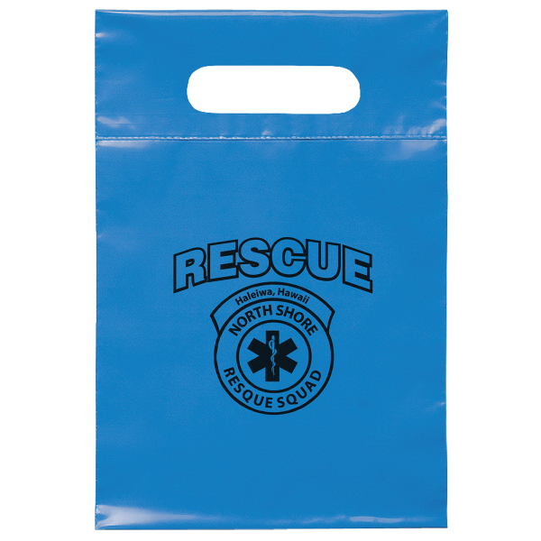 "7"" x 10 1/2"" Die Cut Handle Bag"