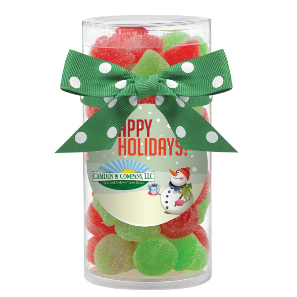 Large Gift Tube with Jelly Bells