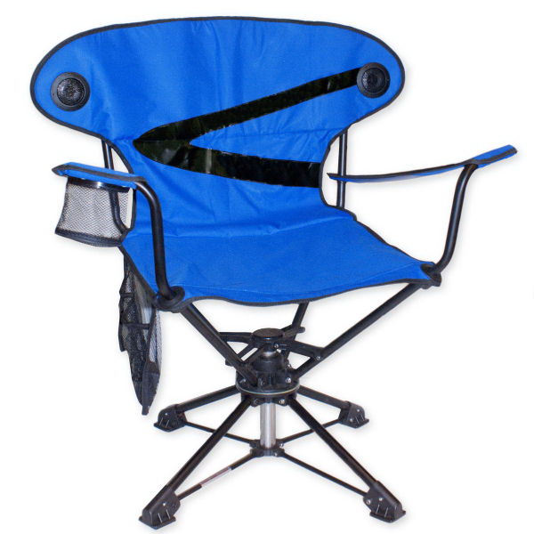 Brentwood 360 Swivel Camp Chair With Speakers USimprints