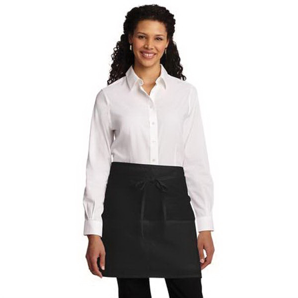 Port Authority Easy Care Half Bistro Apron w/ Stain Release
