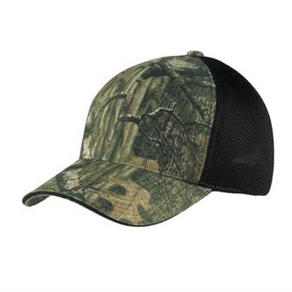 Port Authority (R) Camouflage Cap with Air Mesh Back
