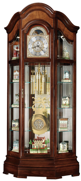 Majestic II curio floor clock