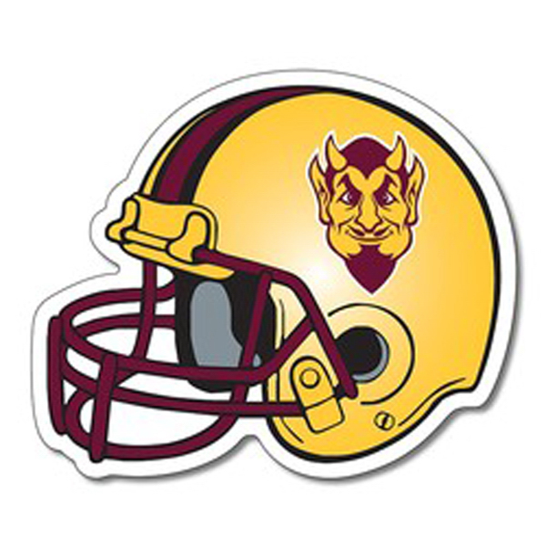 Magnet Football helmet shape (4.25x3.5) 25 mil.