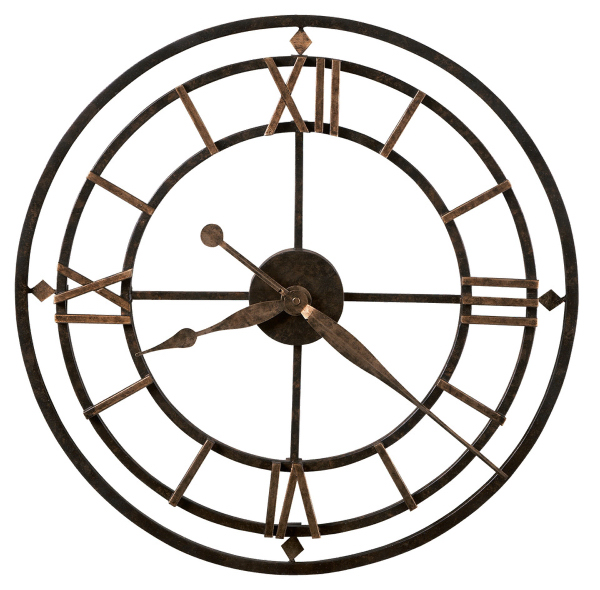 York Station antique style wall clock
