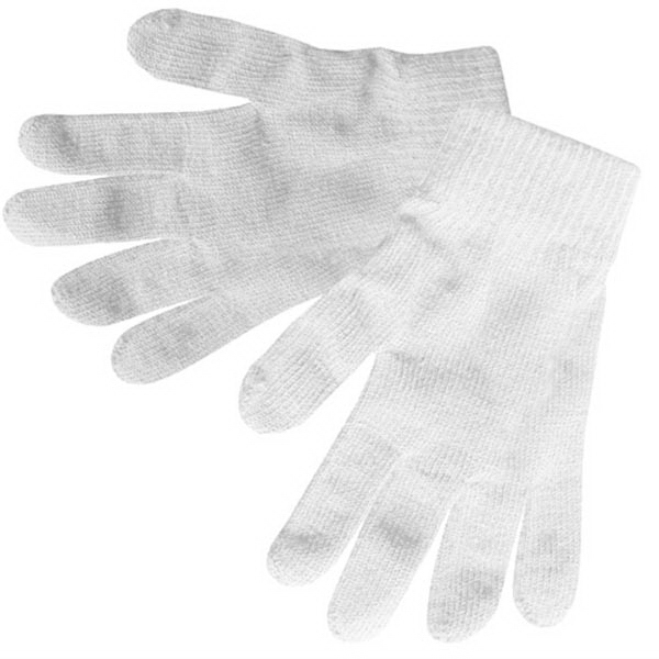 White Stretchable Gloves