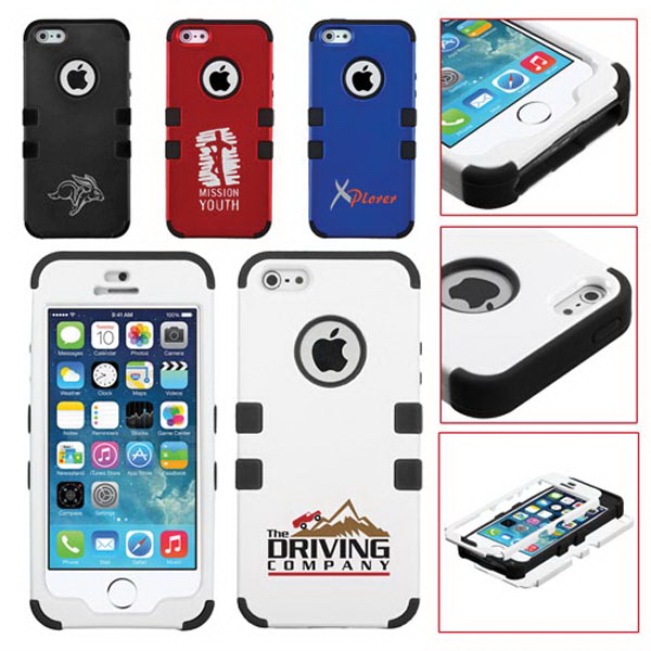 TUFF Hybrid Protector Cover for iPhone 5/5S