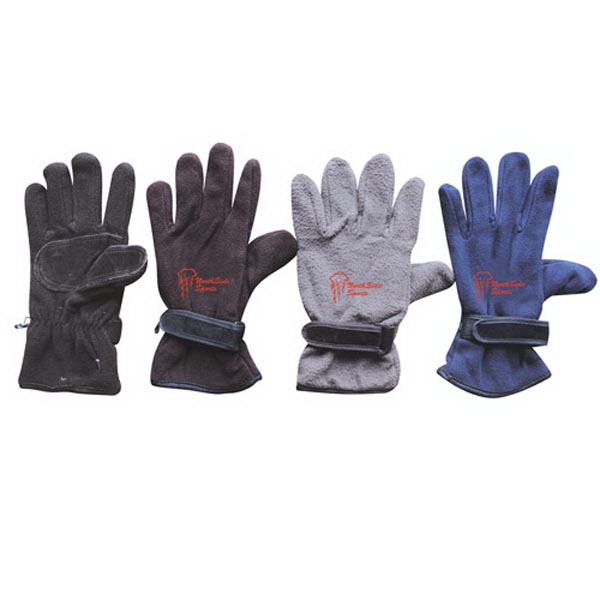 Assorted Color Insulated Fleece Winter Glove