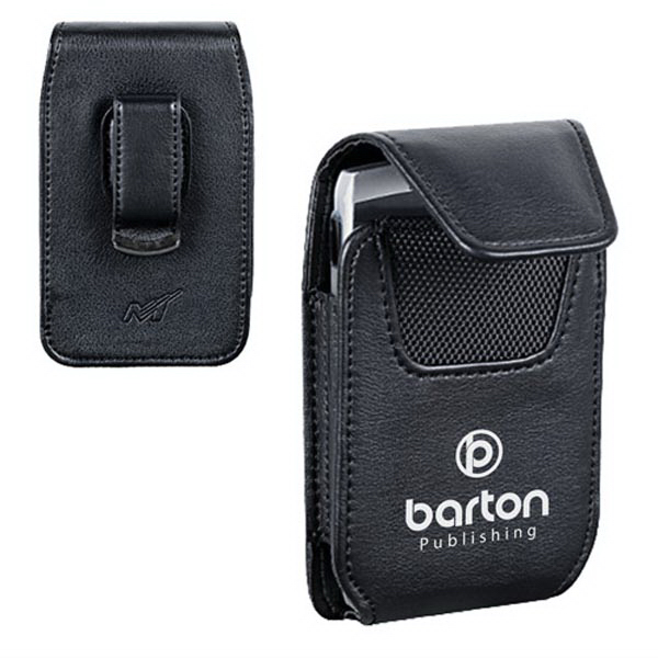 Vertical Cellphone Pouch with Belt Clip