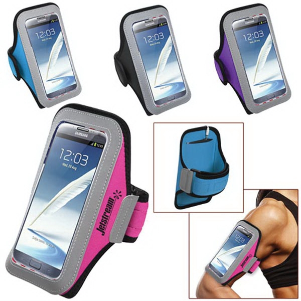 Universal Sport Armband with Large Size Cellphone Pouch