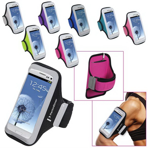 Universal Sport Armband with Medium Size Cellphone Pouch