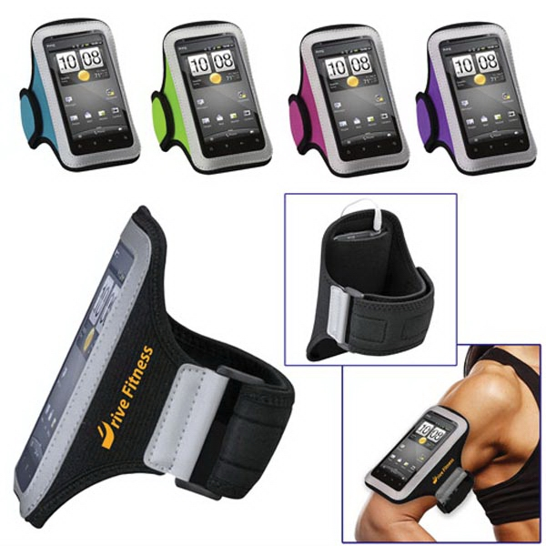 Universal Sport Armband with Small Size Cellphone Pouch