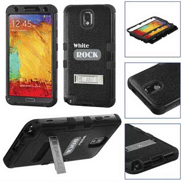 TUFF Hybrid Protector Cover w/Stand for Samsung Galaxy Note3