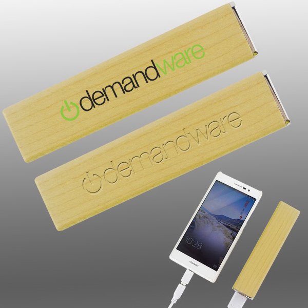 Eco Power Square - 2600 mAh Power Bank