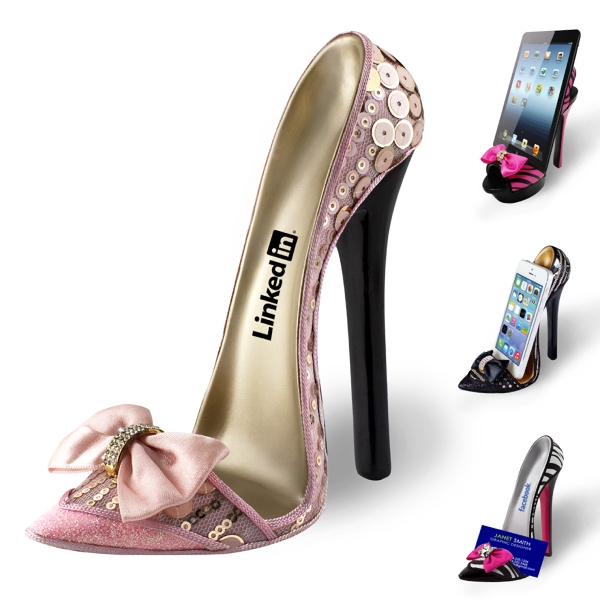 HIGH HEEL PHONE / TABLET STAND - PINK PRINCESS
