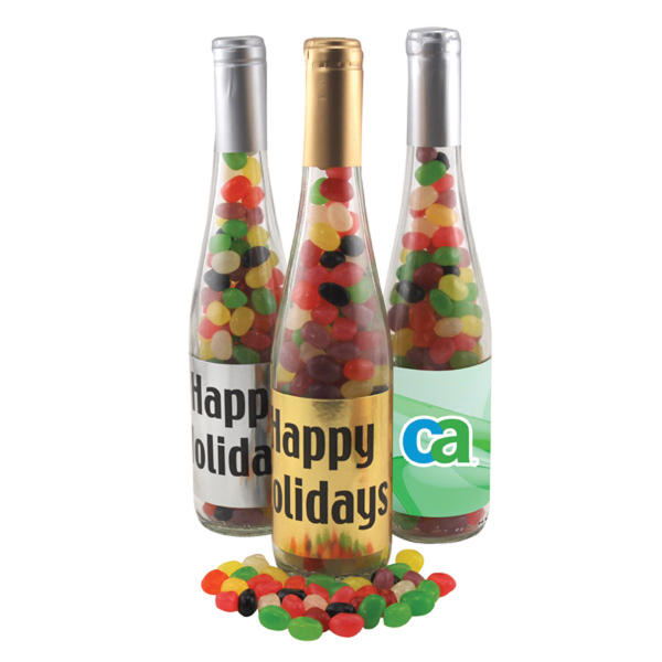 "11"" Champaign Bottle with Jelly Beans Candy"