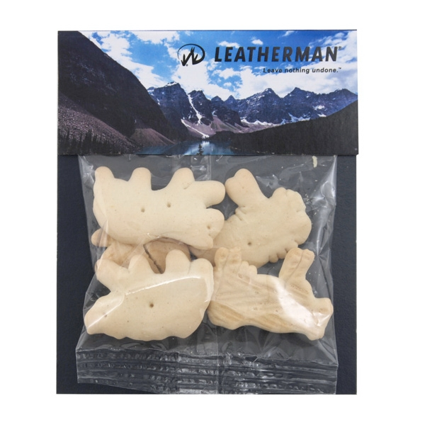 Billboard Full Color Header Bag with Animal Crackers