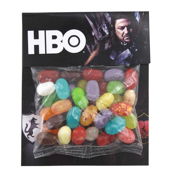 Billboard Full Color Header Bag with Jelly Belly Jelly Beans