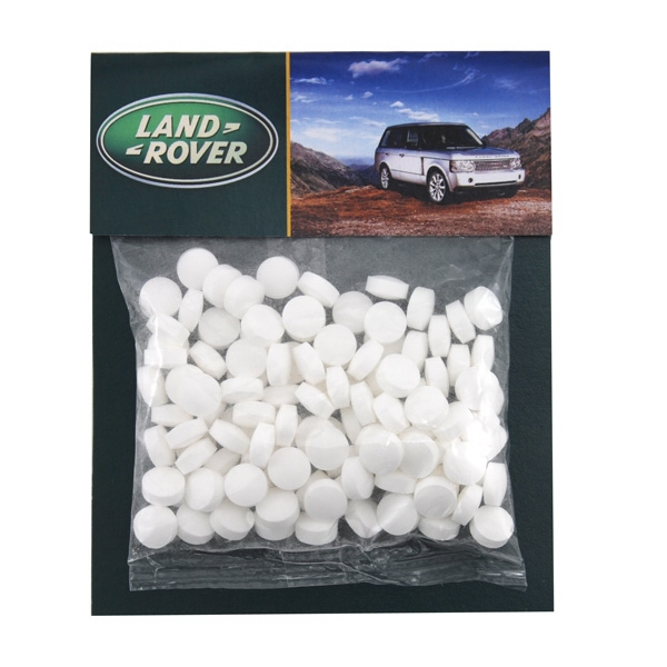 Billboard Full Color Header Candy Bag-  with Mini Mints
