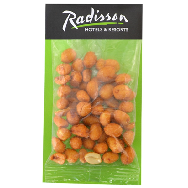 Large Billboard Full Color Header Bag-Honey Roasted Peanuts