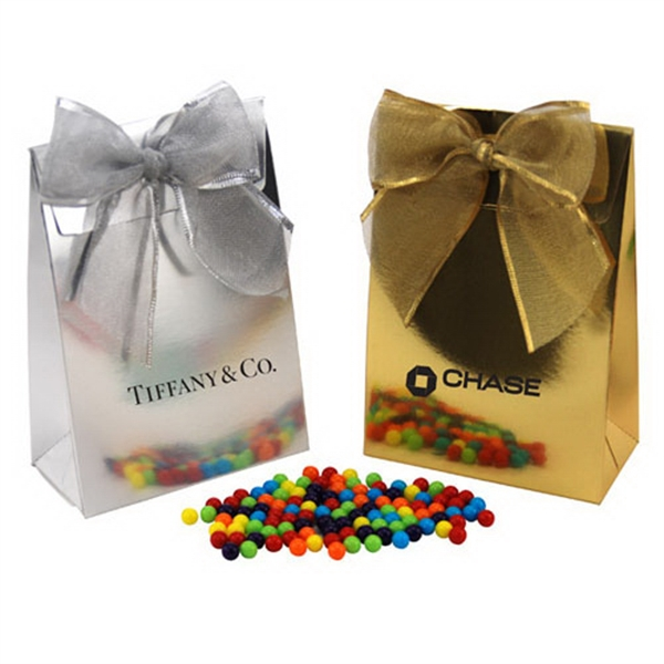 Mini Jawbreakers Candy in a Stand Up Gift Box with Bow