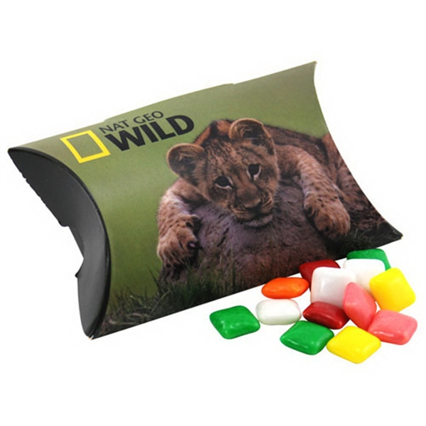 Pillow Box Promo Pack with Mini Chicklet Gum