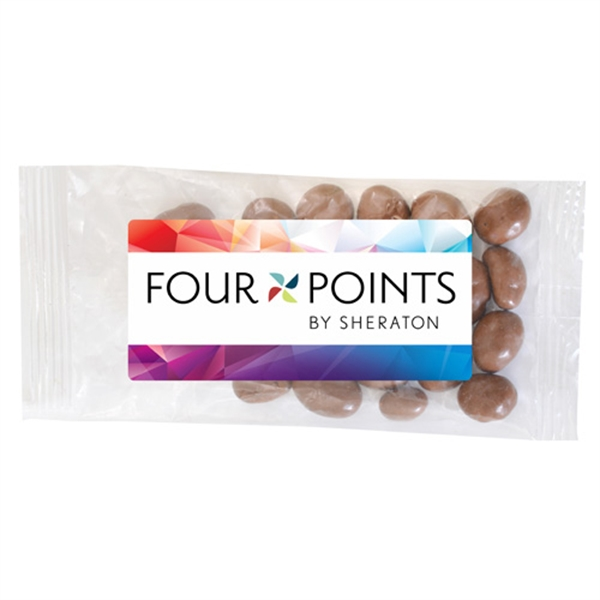 Large Bountiful Bag Full Color Label with Chocolate Peanuts