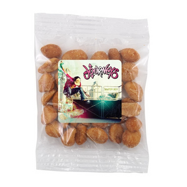 Bountiful Bag with Honey Roasted Peanuts- Full Color Label
