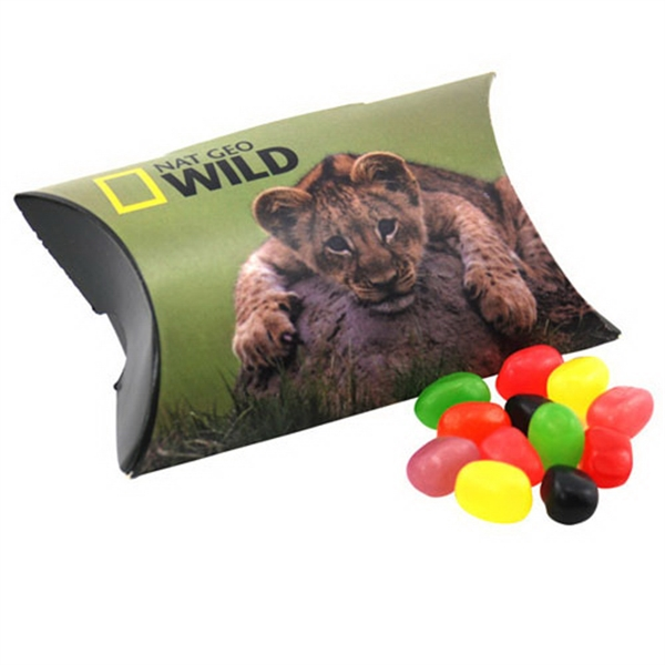 Pillow Box Promo Pack with Jelly Beans Candy