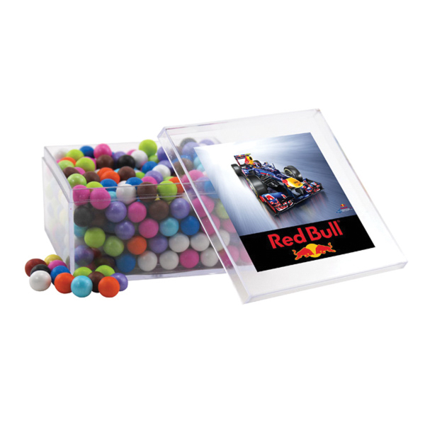 Sixlets in a Clear Acrylic Large Box