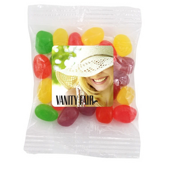 Bountiful Bag with Jelly Beans Candy- Full Color Label