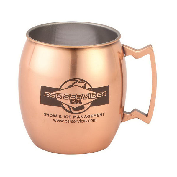 17 oz. Copper Color Plated Stainless Steel Mug