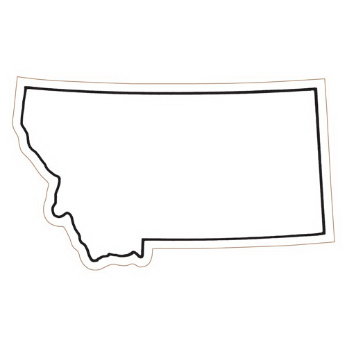 Montana State Stock Magnet