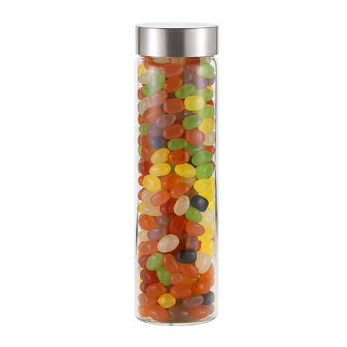 Veranda Glass Bottle With Gourmet Jelly Beans