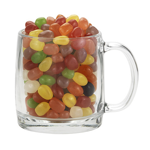 Nordic Glass Mug With Assorted Jelly Beans