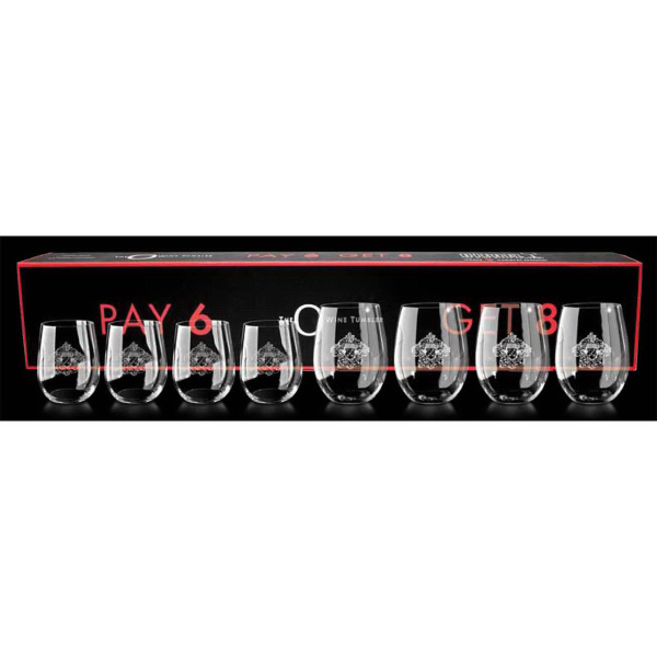 Cabernet or Viognier Glasses - Set of Eight