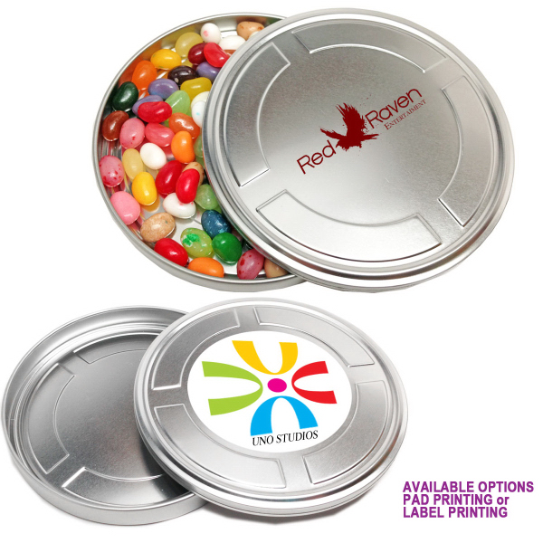 Movie Reel Tin Box Medium with Mints