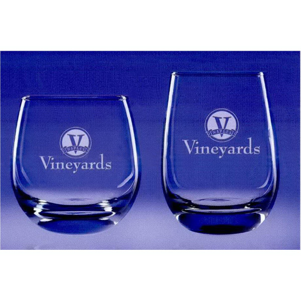 15 Oz. Tangent Stemless Wine Glass