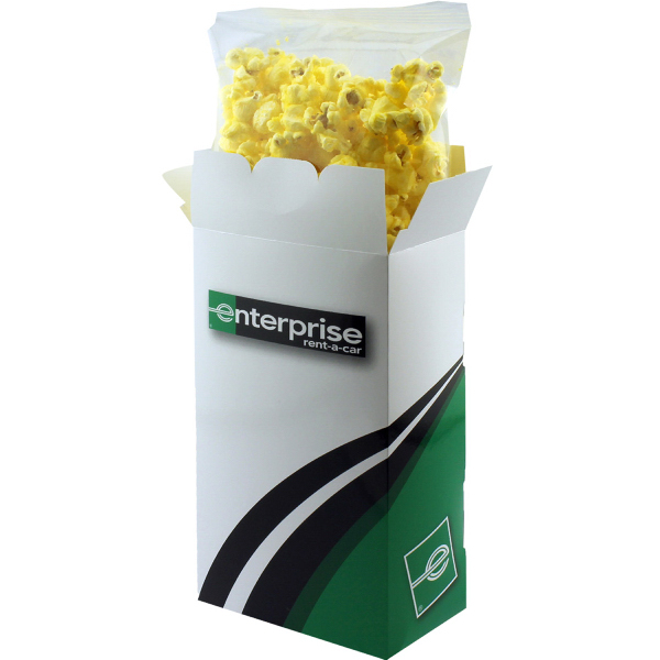 Rectangle Box with Butter Popcorn