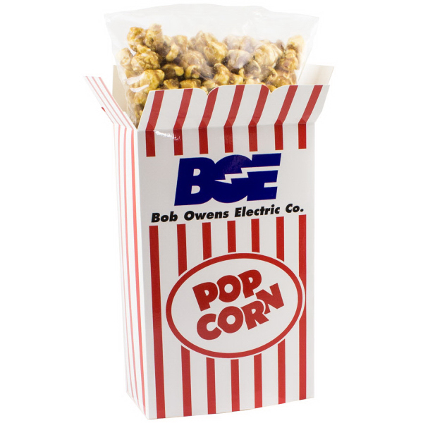 Rectangle Box with Caramel Popcorn