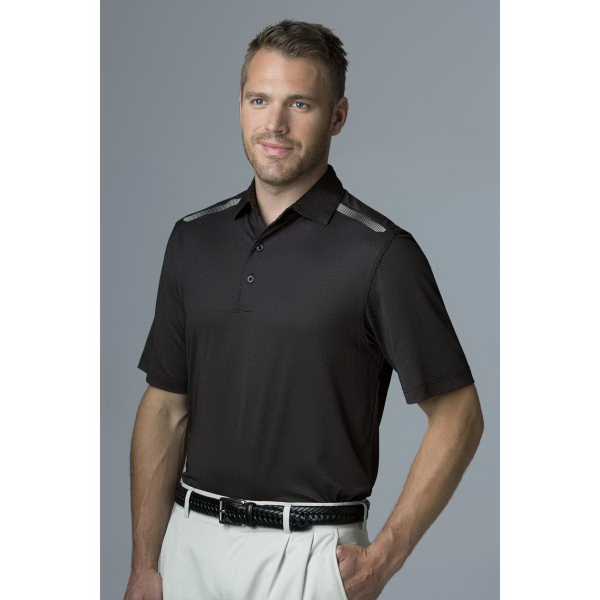 Greg Norman Play Dry (R) Aerated Weatherknit Polo