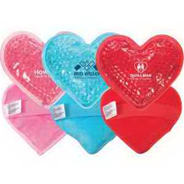 Plush Heart Hot/Cold Pack
