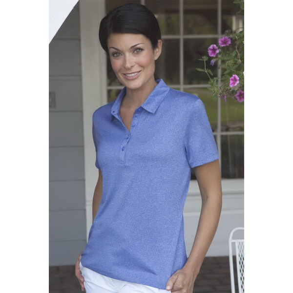 Women's Vansport (TM) Micro Melange Polo
