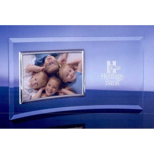 """3.5"""" x 5"""" Picture Frame with Silver Frame"""