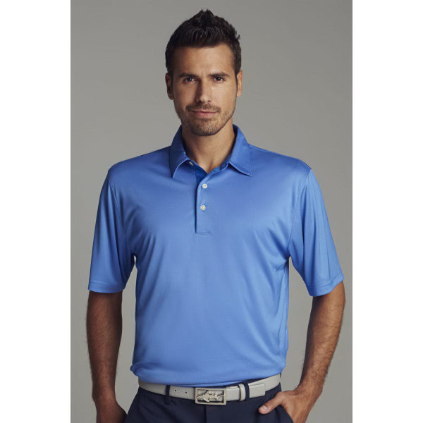 Greg Norman Play Dry (R) ML75 Nailhead Polo