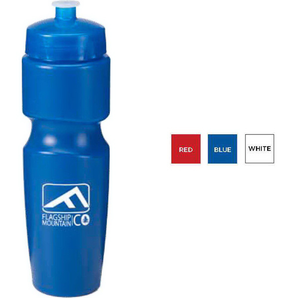 Breakaway Bike Bottle, BPA Free with Contoured Neck