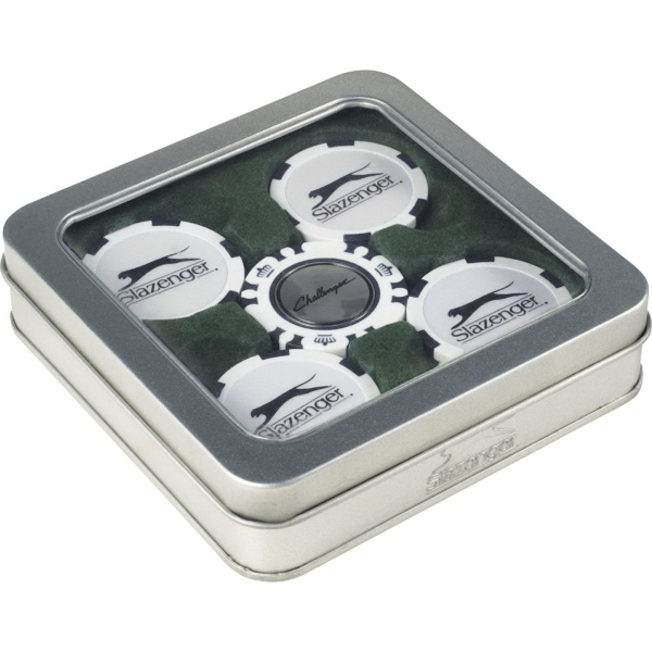Slazenger (TM)Turf Ball Marker Gift Set
